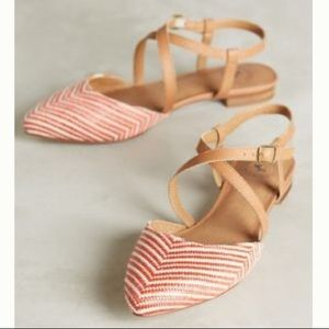 NWOB Anthropologie Gee Wawa shoes. Size 8
